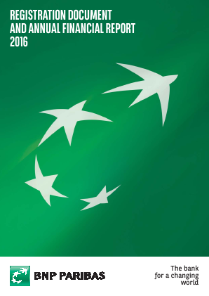 BNP Paribas annual report 2016