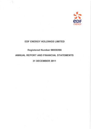 EDF Electricite de France annual report 2011