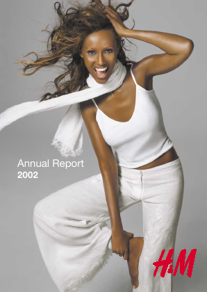 Hennes & Mauritz annual report 2002