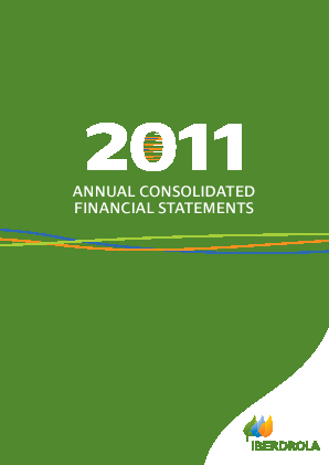 Iberdrola annual report 2011