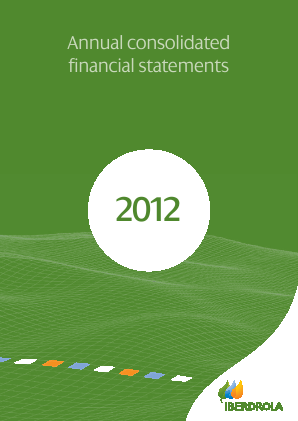 Iberdrola annual report 2012