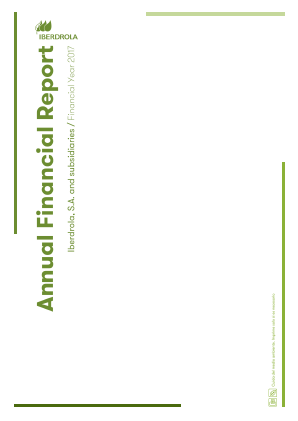 Iberdrola annual report 2017