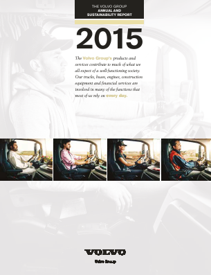 Volvo annual report 2015