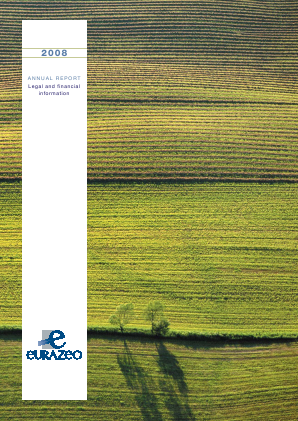 Eurazeo annual report 2008