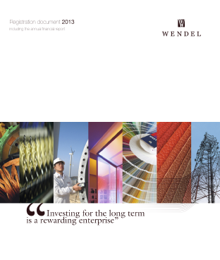 Wendel annual report 2013