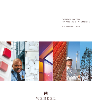 Wendel annual report 2015