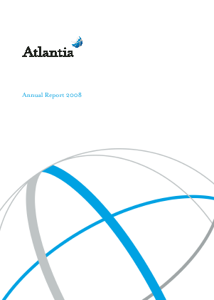 Atlantia annual report 2008