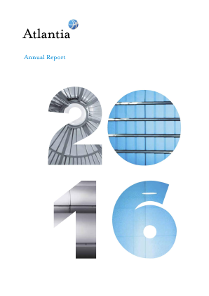 Atlantia annual report 2016