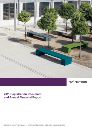 Natixis annual report 2011