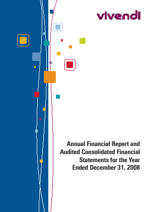 Vivendi annual report 2008