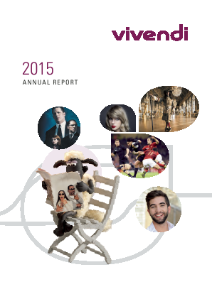 Vivendi annual report 2015