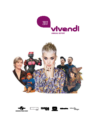 Vivendi annual report 2017