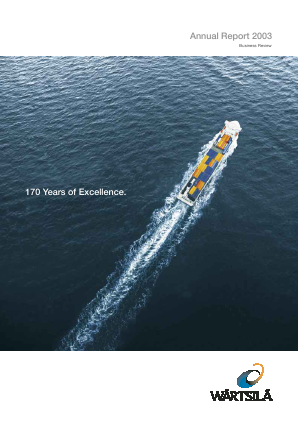 Wartsila annual report 2004