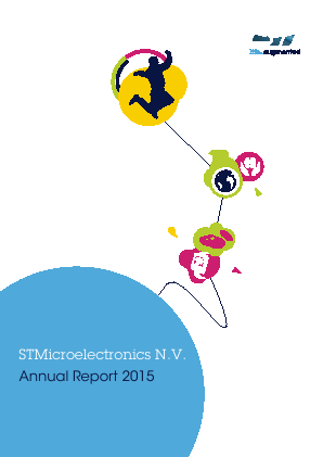 STMicroelectronics annual report 2015