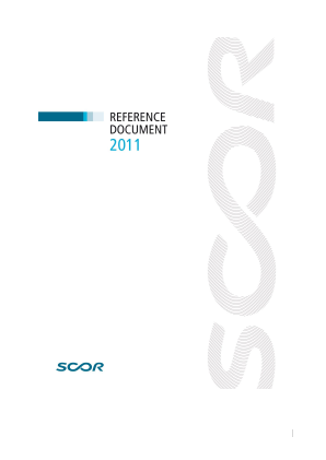 Scor annual report 2011