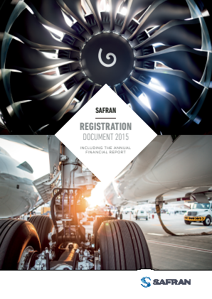 Safran annual report 2015