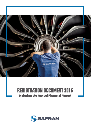 Safran annual report 2016