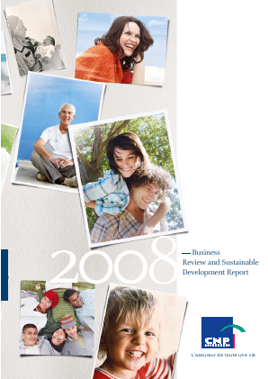 CNP Assurances annual report 2008