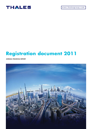 Thales annual report 2011
