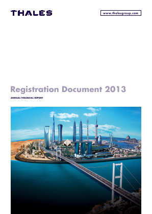 Thales annual report 2013