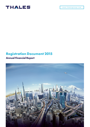 Thales annual report 2015