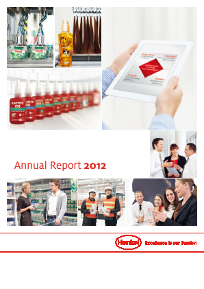 Henkel annual report 2012