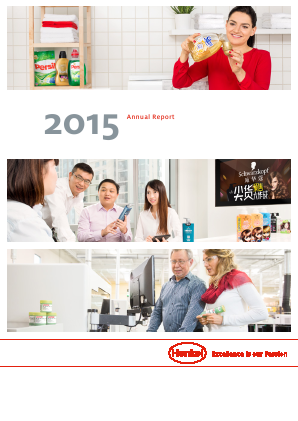 Henkel annual report 2015