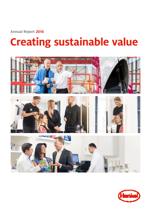 Henkel annual report 2016