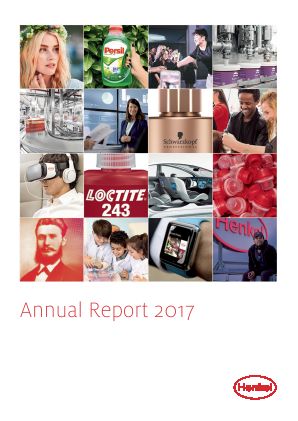 Henkel annual report 2017
