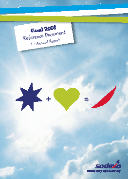 Sodexo annual report 2008