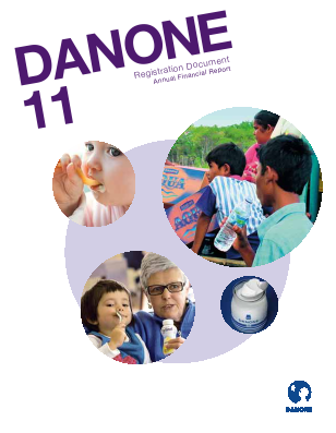Danone annual report 2011
