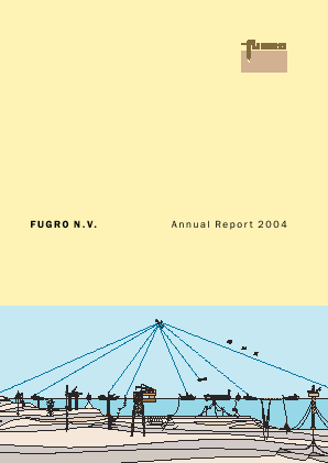 Fugro annual report 2004