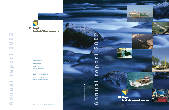 Boskalis Westminster annual report 2002