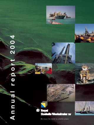 Boskalis Westminster annual report 2004
