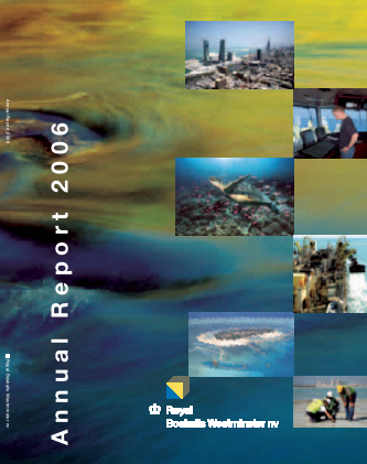 Boskalis Westminster annual report 2006