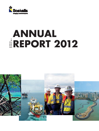 Boskalis Westminster annual report 2012