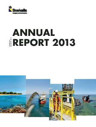 Boskalis Westminster annual report 2013