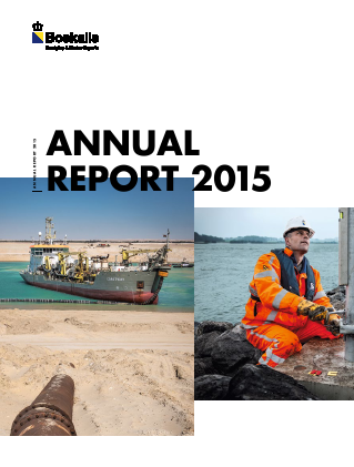 Boskalis Westminster annual report 2015