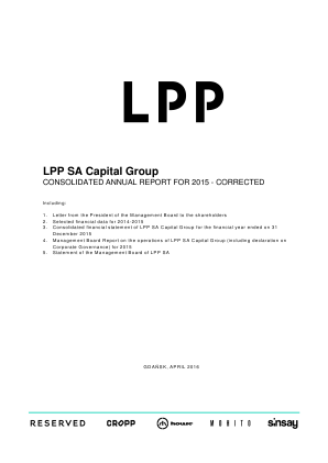 LPP annual report 2015