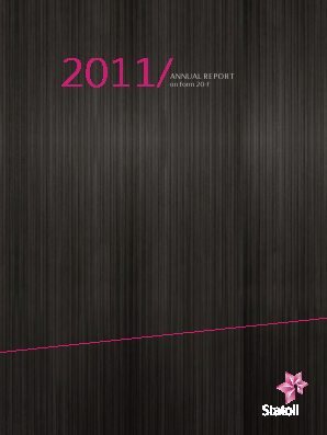 Statoil annual report 2011