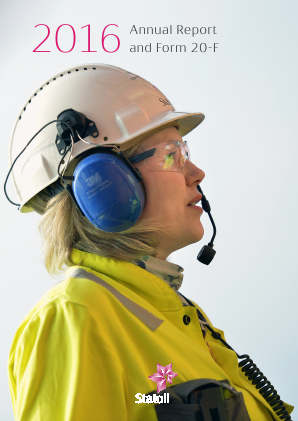 Statoil annual report 2016