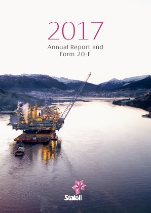 Statoil annual report 2017