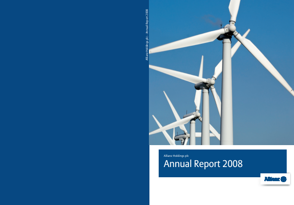 Allianz annual report 2008