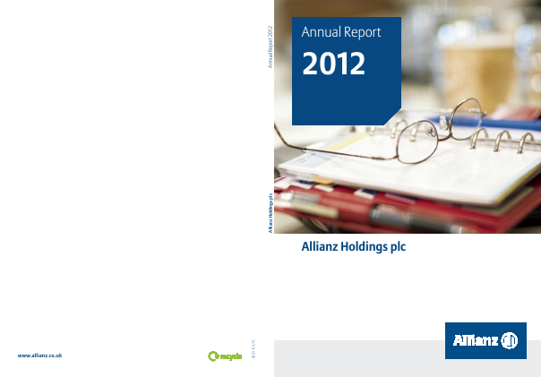 Allianz annual report 2012