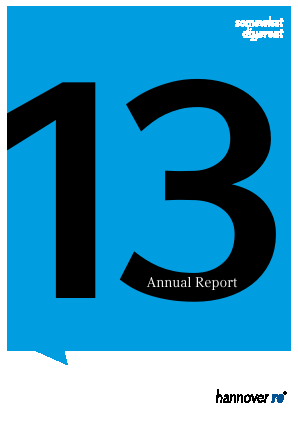 Hannover Rueck annual report 2013