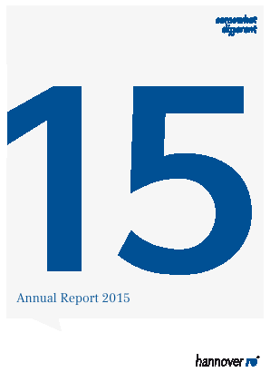 Hannover Rueck annual report 2015