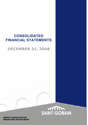 Saint Gobain annual report 2008