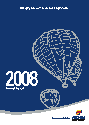OMV Petrom annual report 2008