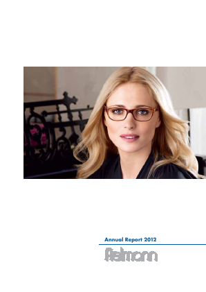 Fielmann annual report 2012