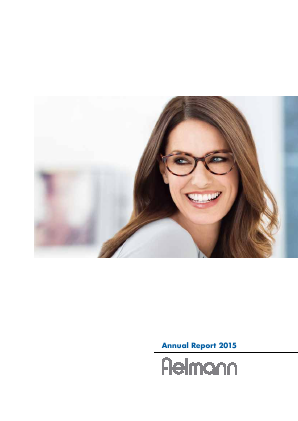 Fielmann annual report 2015